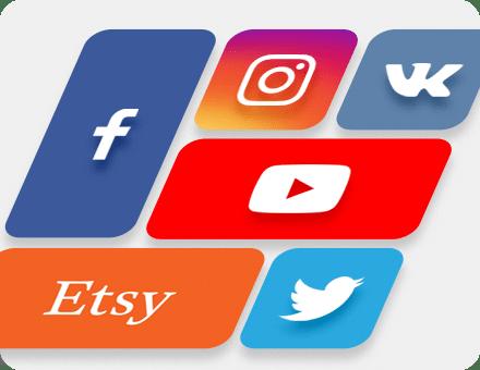 Обложки и аватары для социальных сетей