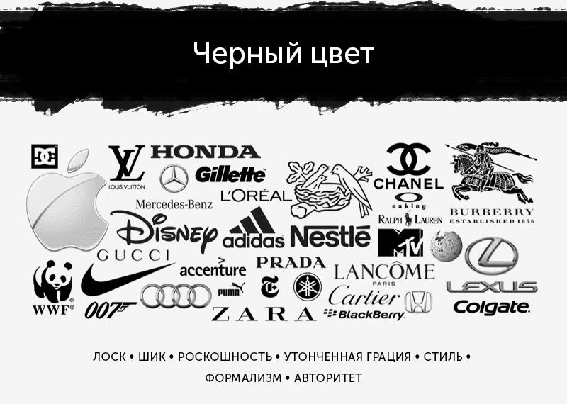 логотипы черного цвета