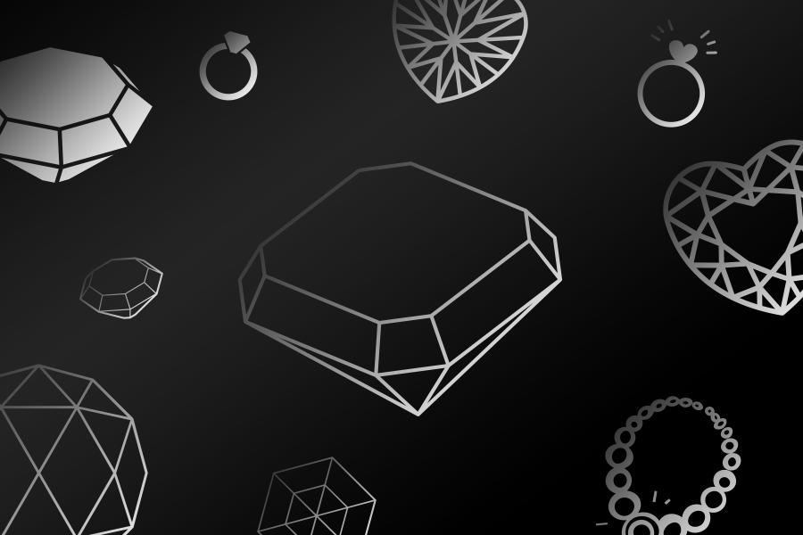Иконки для логотипа ювелирной компании