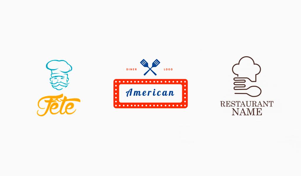 Логотипы для ресторана