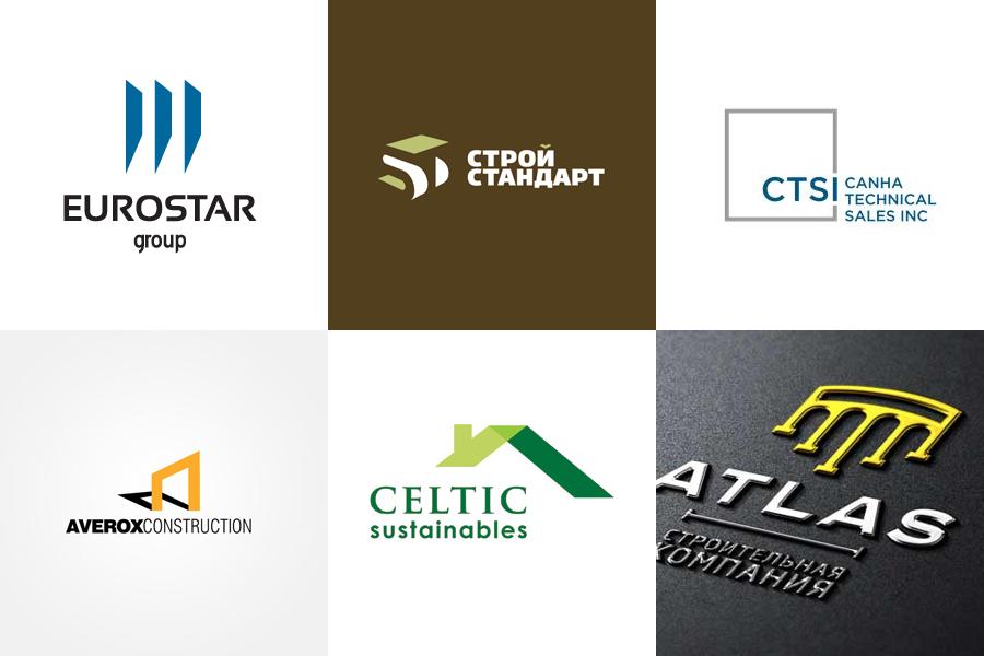 логотипы строительных компаний