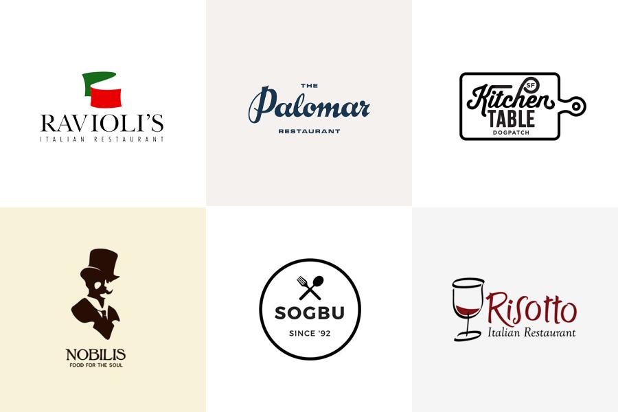 Логотипы ресторанов