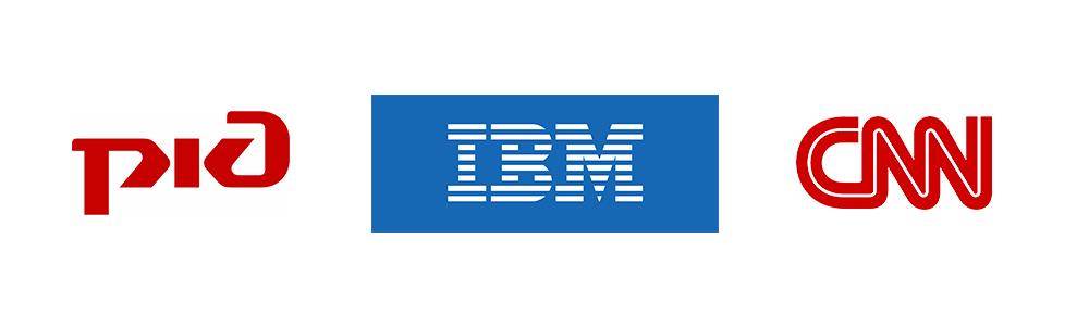 Логотипы, использующие аббревиатуры