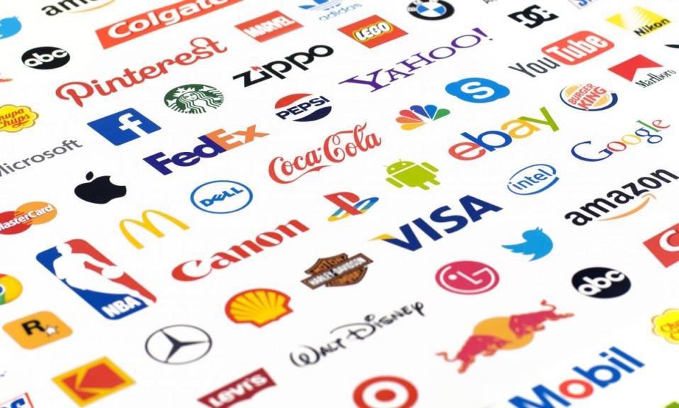 логотипы известных компаний