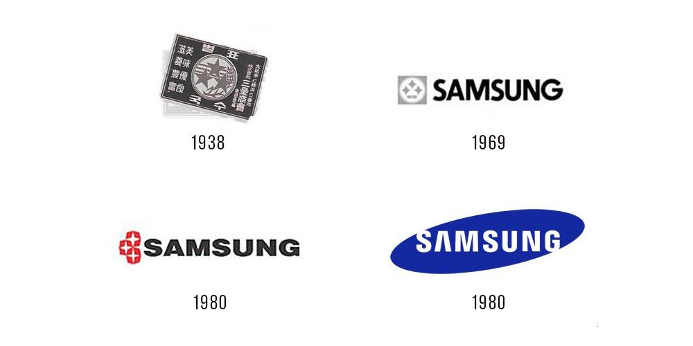 История логотипа Samsung