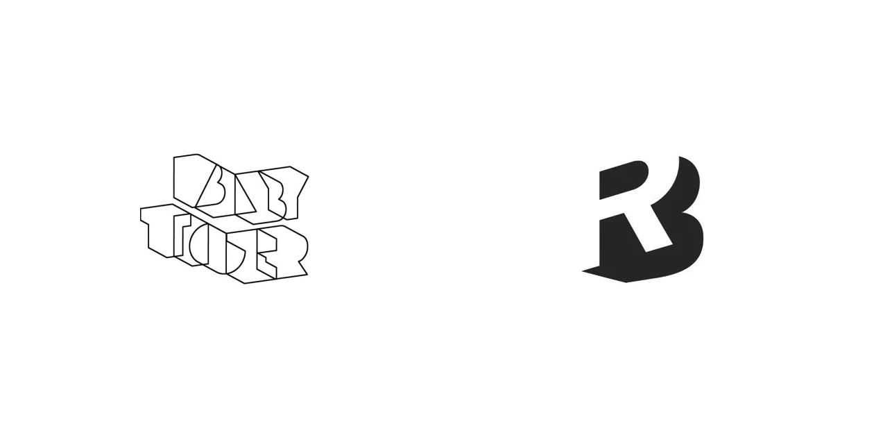 Объемные логотипы