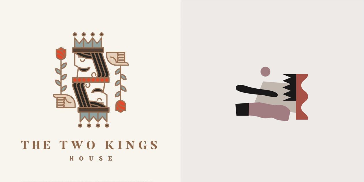 геометричные логотипы