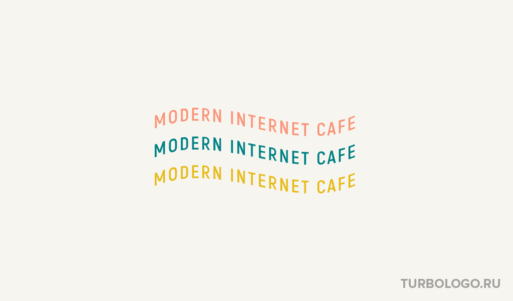 Модерн логотип