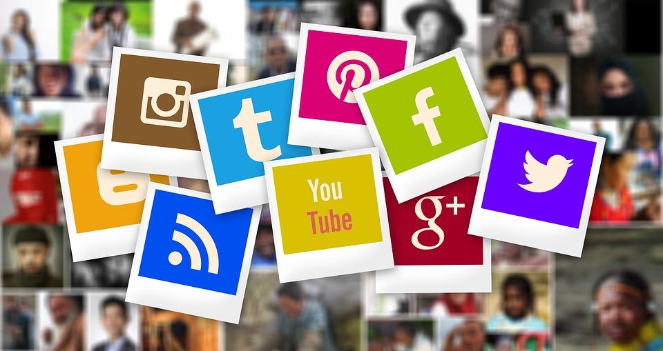 Логотипы социальных сетей
