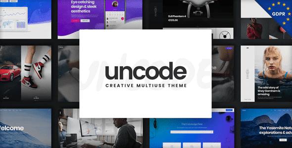 uncode тема вп
