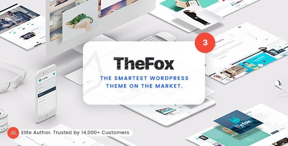 thefox wordpress тема