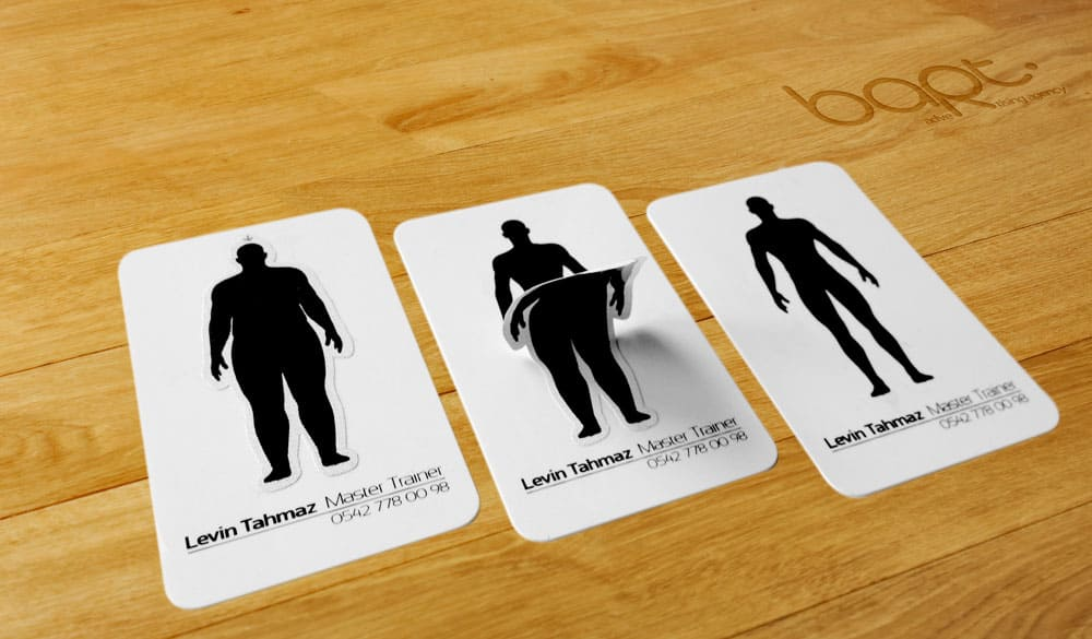 Мотивационная визитка