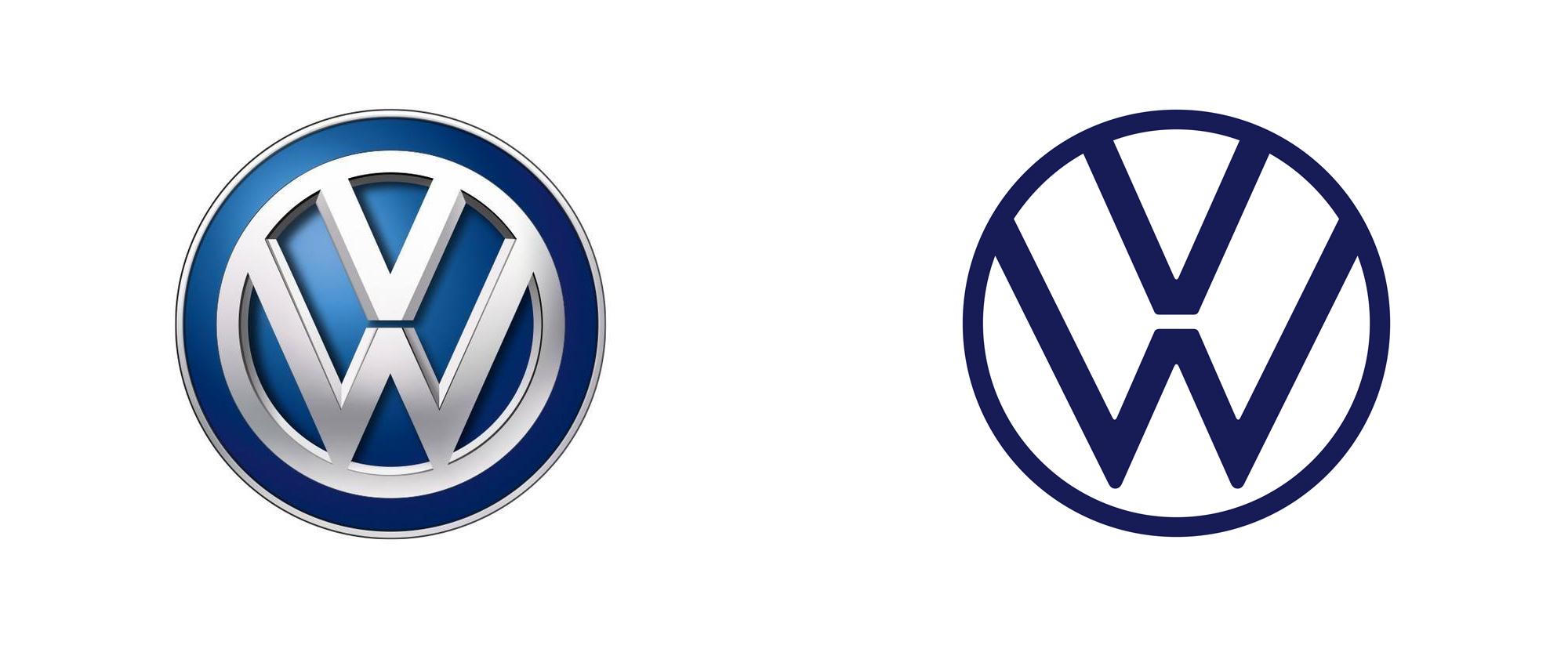 Изменение логотипа Volkswagen