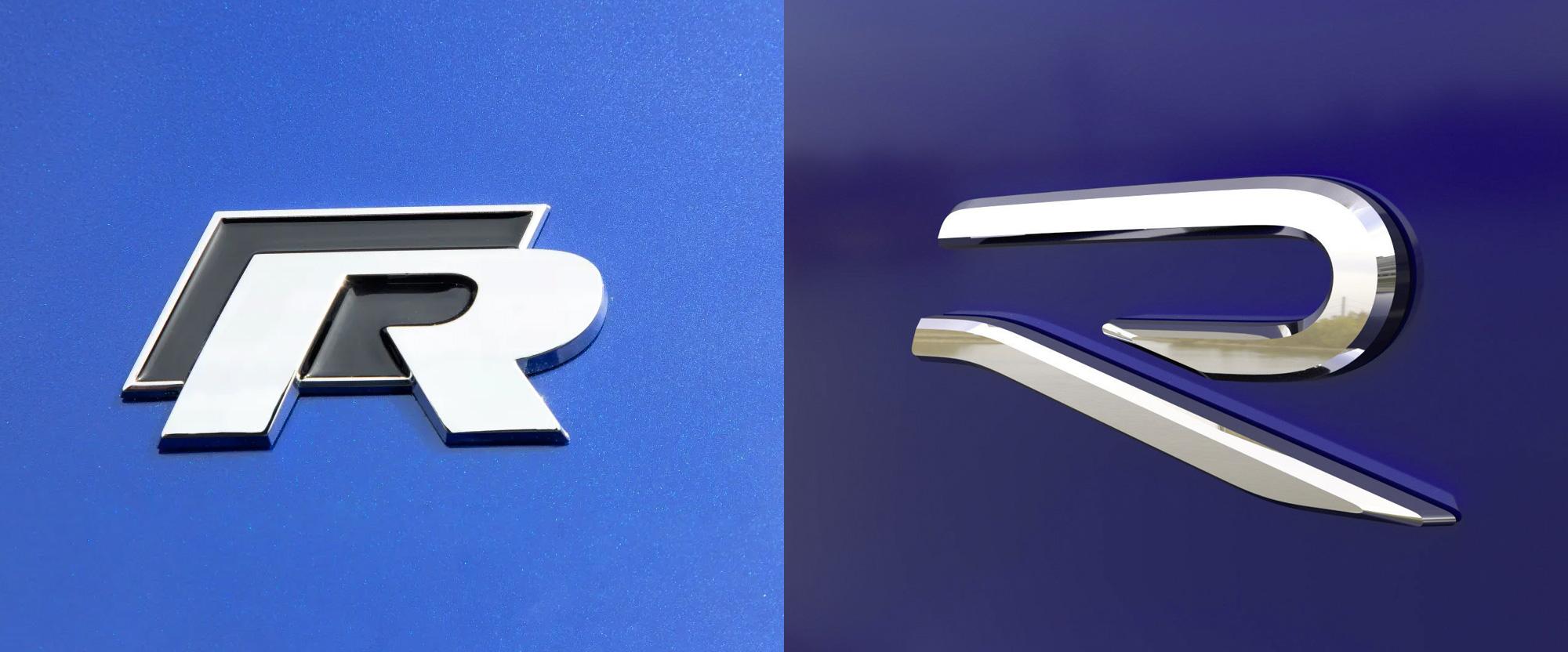 Изменение логотипа Volkswagen R