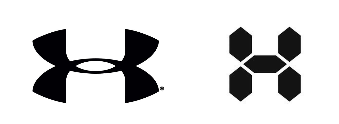 Изменение логотипа Under Armour