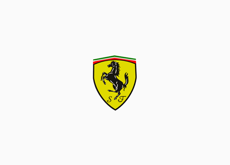Логотип Феррари 1990