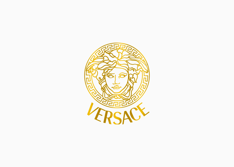 Логотип Версаче 1997