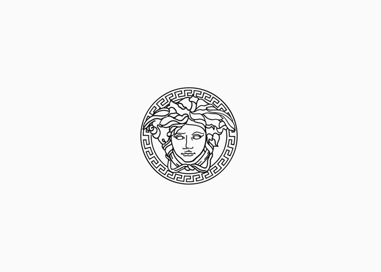 Логотип Версаче 1993