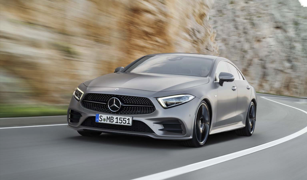Mercedes-Benz машина 2020