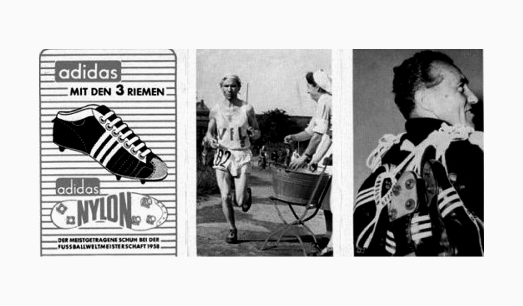 Adidas история бренда