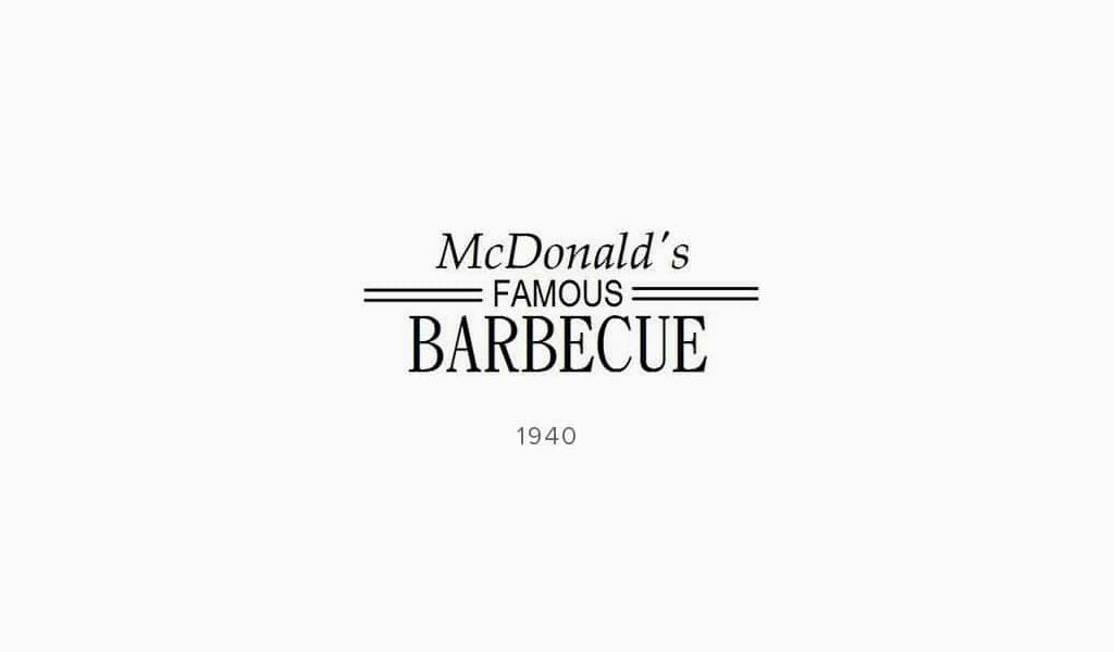 логотип McDonalds 1940
