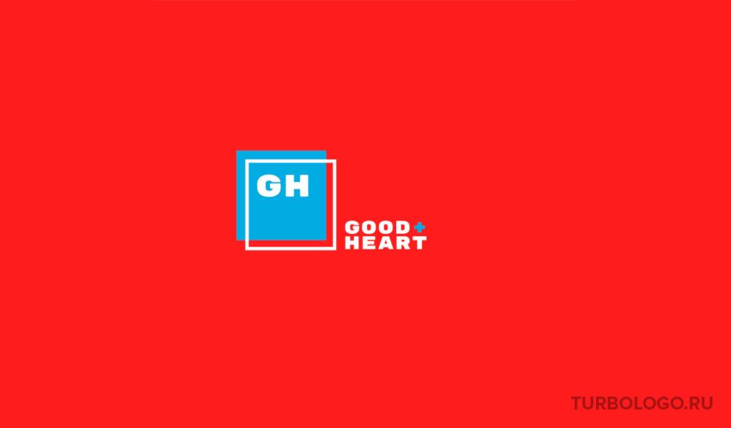 Логотип-монограмма GH