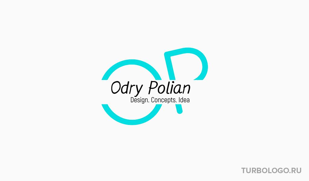 Логотип-монограмма OP
