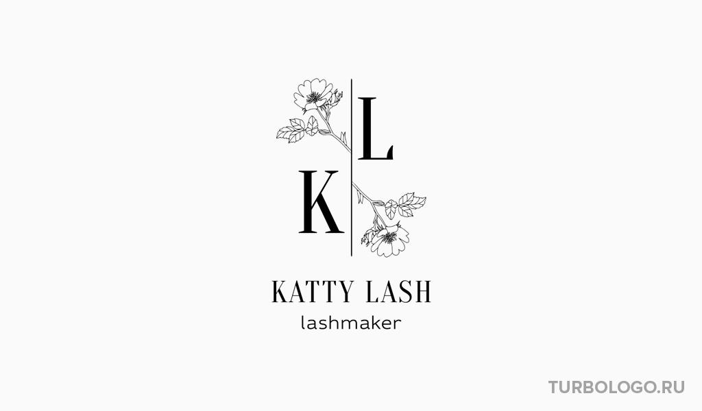 Логотип-монограмма KL