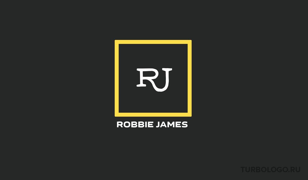 Логотип-монограмма RJ