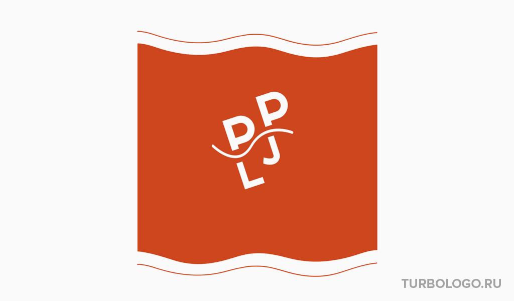 Логотип-монограмма PJL