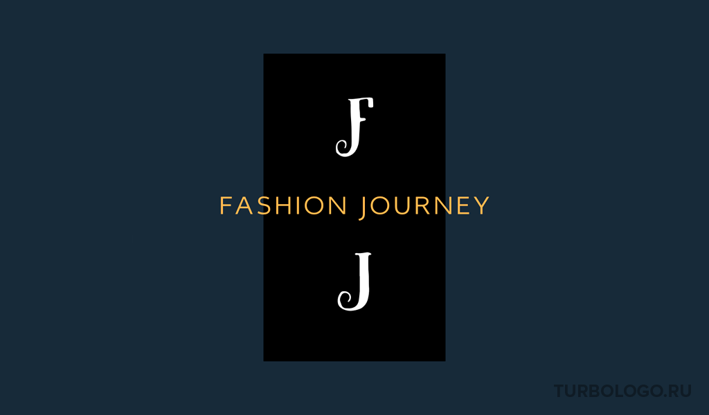 Логотип-монограмма FJ