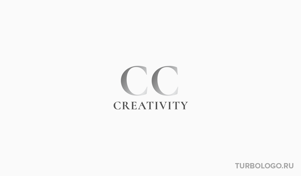 Логотип-монограмма CC