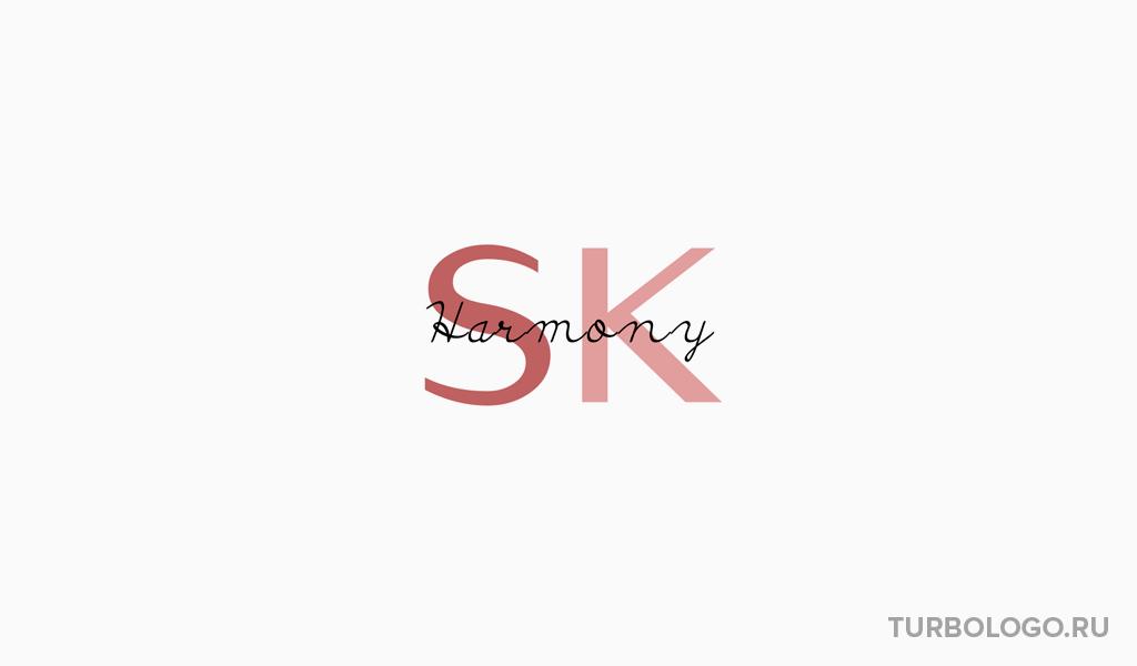 Логотип-монограмма SK