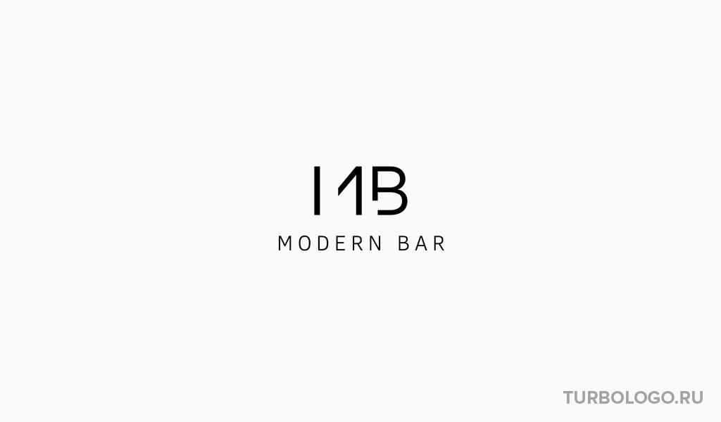 Логотип-монограмма MB