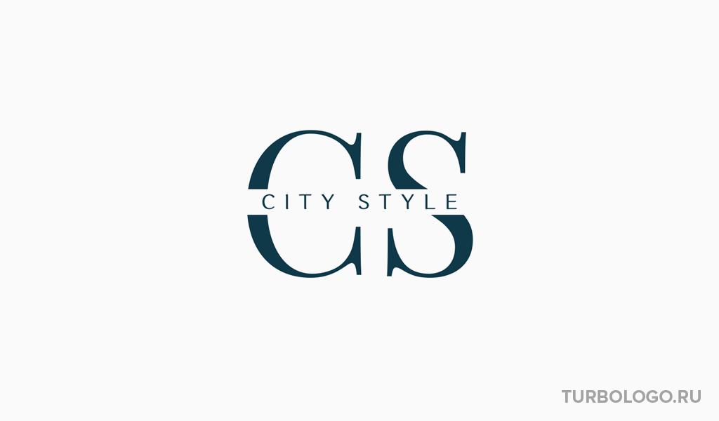 Логотип-монограмма CS