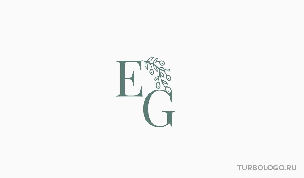 Логотип-монограмма EG