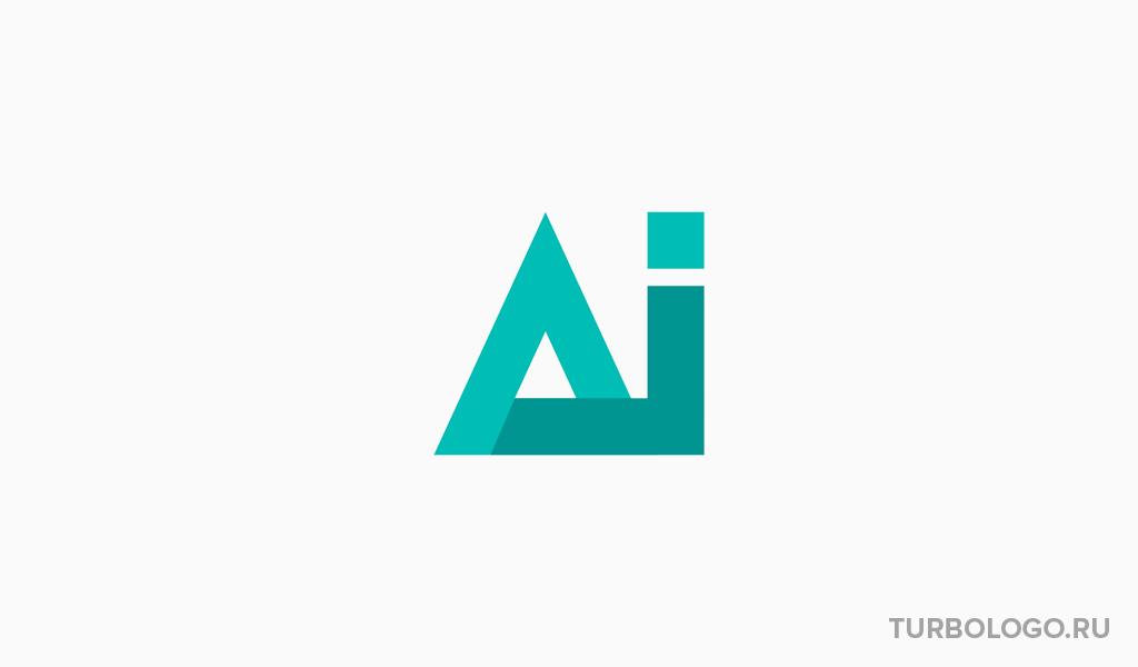 Логотип-монограмма Ai