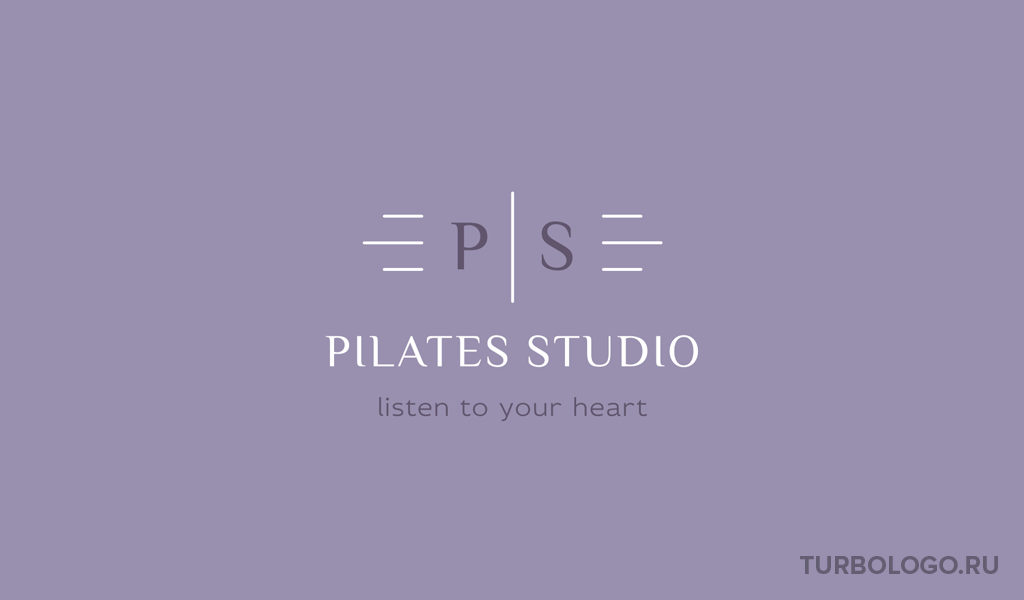 Логотип-монограмма PS