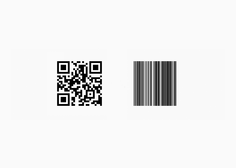 QR код и линейный код