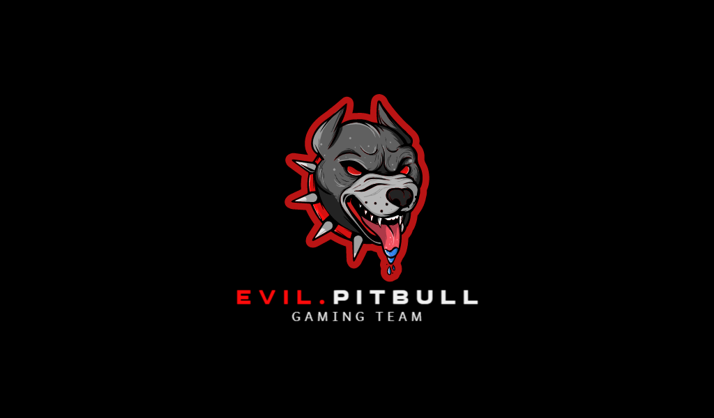 Логотип для команды КС ГО питбуль собака
