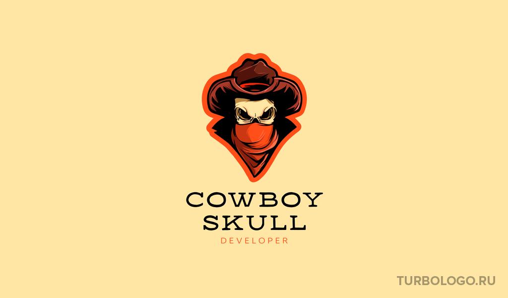 Логотип для команды КС ГО ковбой