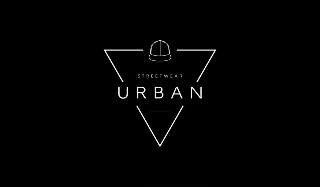 Черно-белый логотип магазин