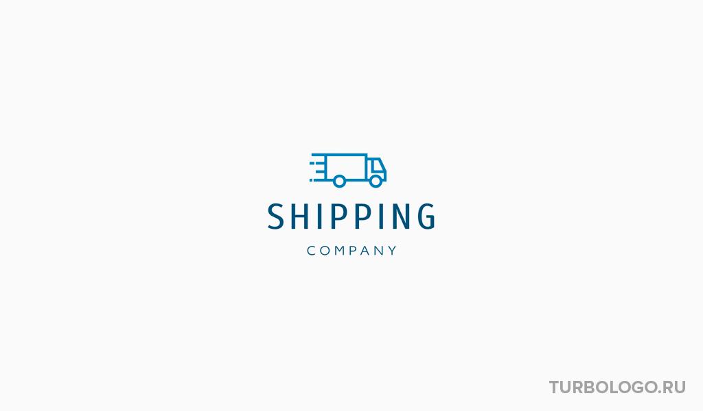 Логотип транспортной компании