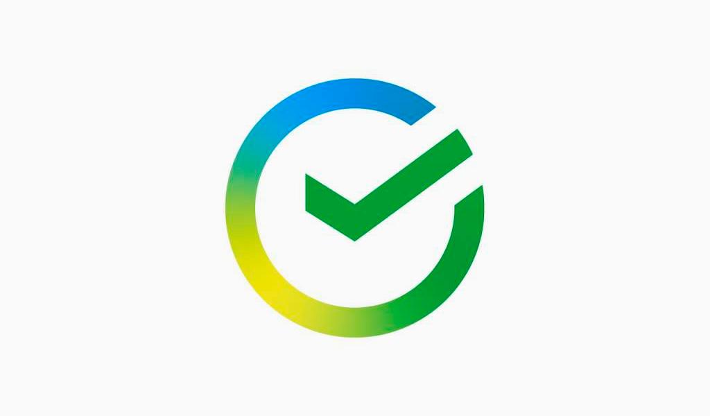 Новый логотип Сбера