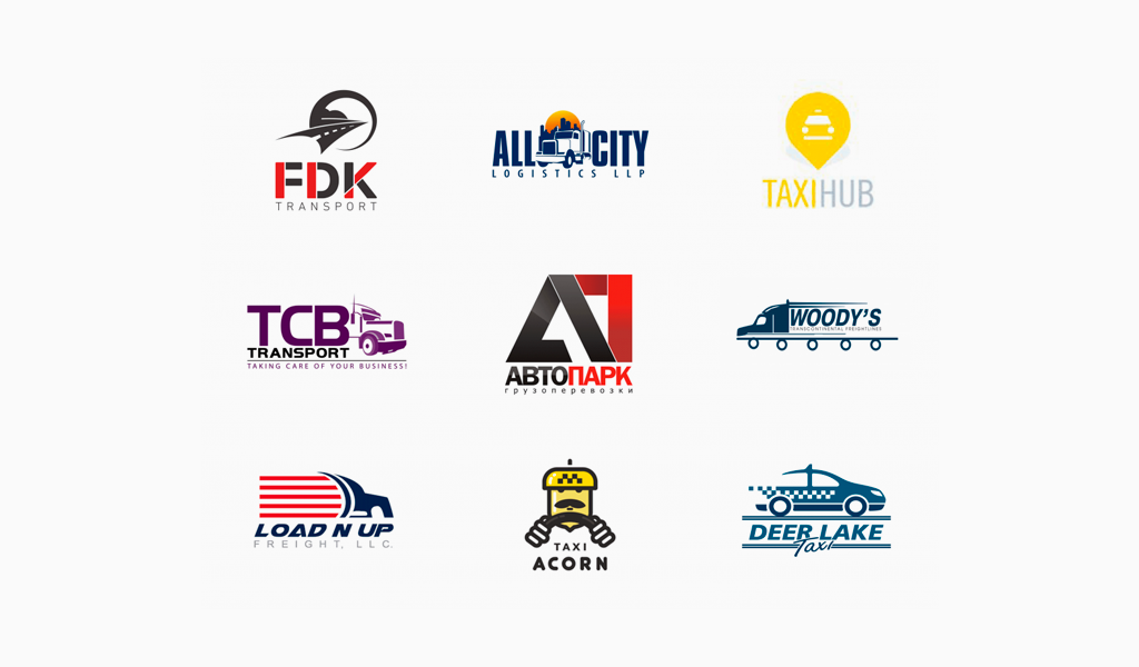Логотипы транспортной компании