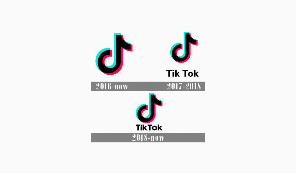 Изменения логотипа Тикток