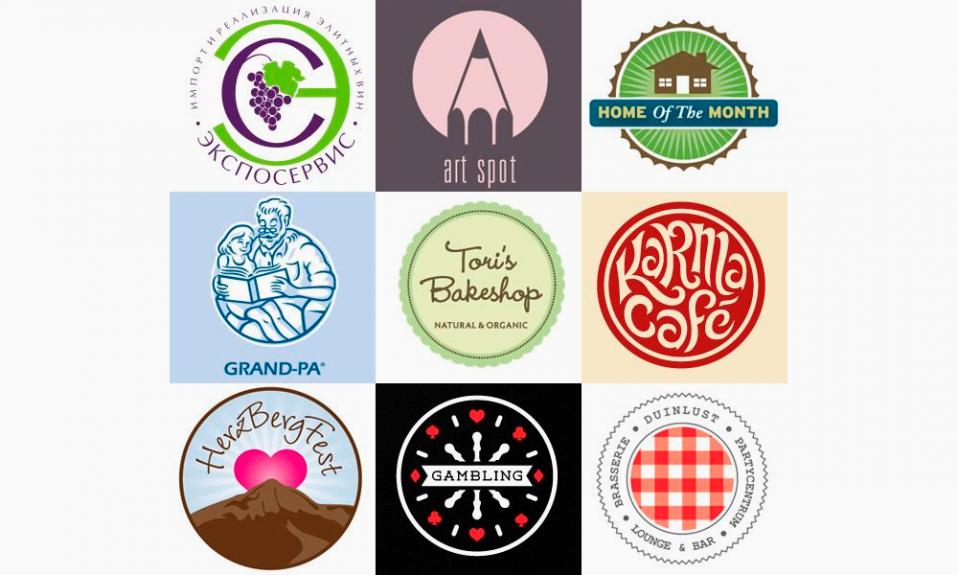Логотипы круглые