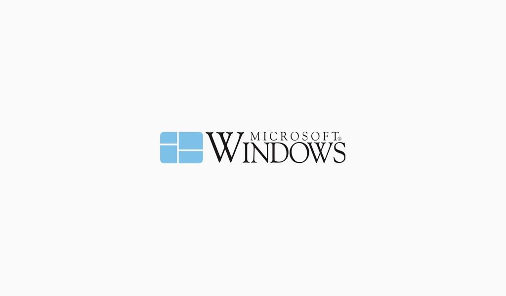 Логотип Microsoft 1985