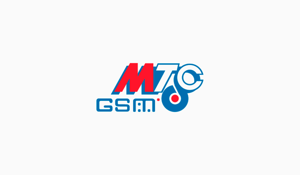 Первый логотип МТС