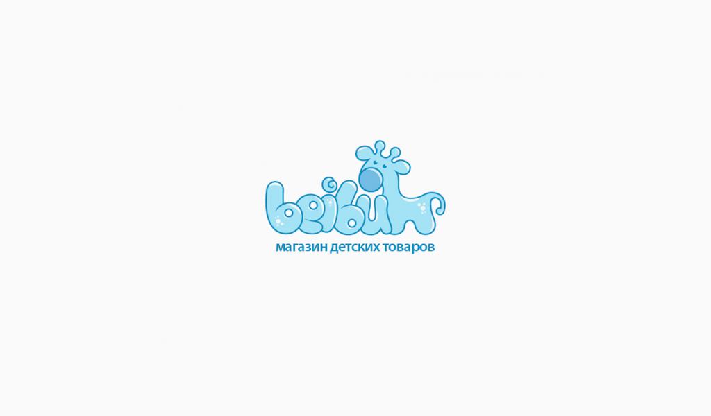 Логотип магазина детских товаров
